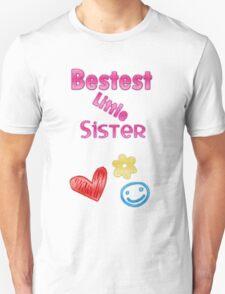 Bestest Little Sister Unisex T-Shirt