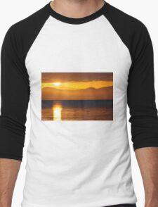 Hinchinbrook Sunset Men's Baseball ¾ T-Shirt
