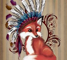 The Fox Chief by nellmeowmeow
