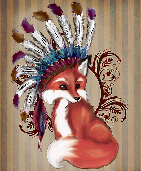 The Fox Chief by Danielle  Madrigal
