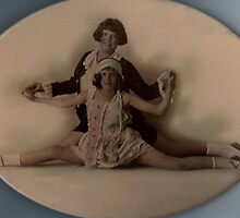 Vintage Ballet pose. by Ian A. Hawkins