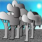 The Mushroom Forest by IrisGelbart
