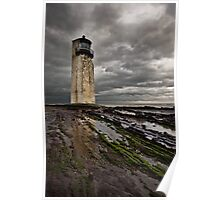 Southerness Lighthouse Poster