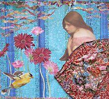 Rose And The Yellow Bird by Kanchan Mahon