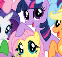 mane six Sticker
