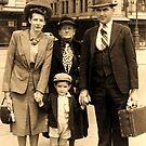 Wartime Family (Hawkins), Sydney, Australia. by Ian A. Hawkins