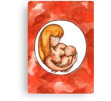 Breastfeeding Canvas Print