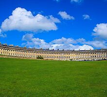 Royal Crescent - Bath by Lauren Tucker