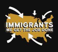 Hamilton - Immigrants, we get the job done. (Black) by Johanna Martinez