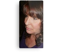linmarie has a new doo.... Metal Print