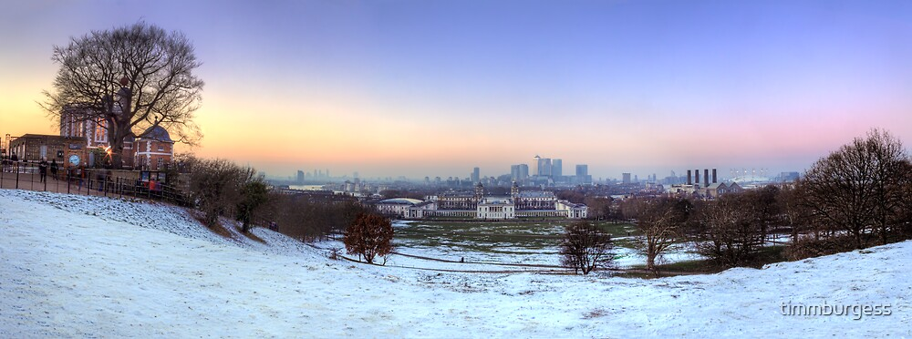 Greenwich Park Panorama by timmburgess
