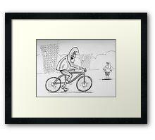 the wheeler dealer Framed Print