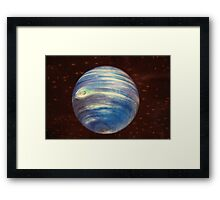 The world is round.... Framed Print