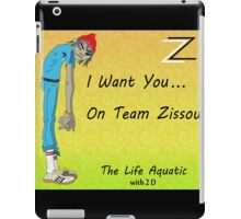 Life Aquatic - With 2 D From The Gorillaz iPad Case/Skin
