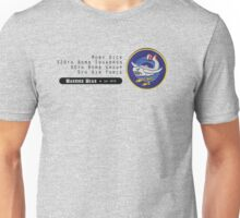 Moby Dick - 320th SQ - 90th BG - 5th AF    Emblem (Black) Unisex T-Shirt