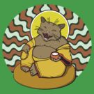 Buddha Cat by shpshift