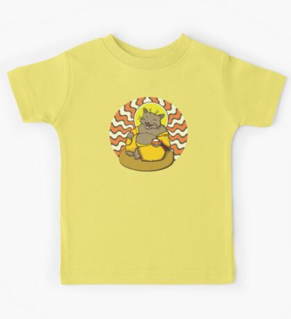 Buddha Cat Kids Tee