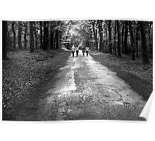Promenade en Foret - A Walk in the Woods Poster
