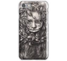girl, invisible monsters Palahniuk, horror, face, dark, eyes iPhone Case/Skin