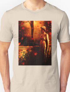 Autumn Black Cats Unisex T-Shirt