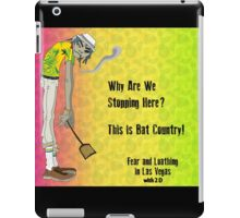 Fear & Loathing - With 2 D From The Gorillaz iPad Case/Skin