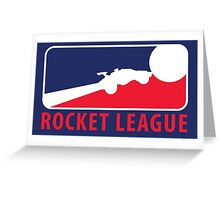 Major League Rocket League Greeting Card