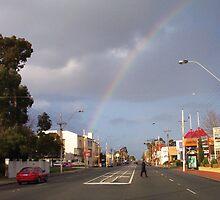 Suburban Rainbow 02 by Robert Phillips
