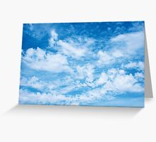Mad Clouds Greeting Card