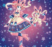 Pokemon Gijinka Series: Sylveon / Ninfia by AlicenUnderwear