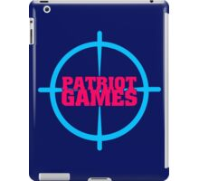 Patriot Games iPad Case/Skin