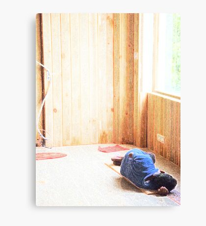Sick Day Canvas Print