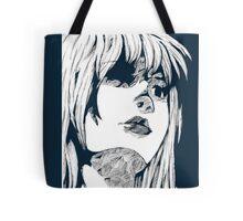 Sketched Lady Tote Bag
