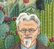 Frida Kahlo's Portrait of Leon Trotsky by chetloggins