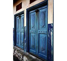 Angled Doors Photographic Print