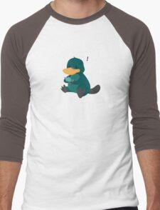 playing platypus Men's Baseball ¾ T-Shirt
