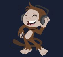 monkey dancing Kids Clothes
