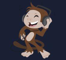 monkey dancing Kids Tee