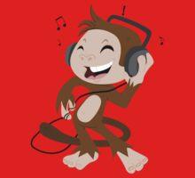 monkey dancing One Piece - Long Sleeve