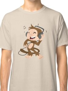 monkey dancing Classic T-Shirt