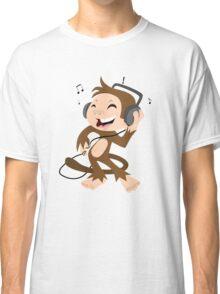 monkey dancing Classic T-Shirt