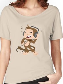monkey dancing Women's Relaxed Fit T-Shirt