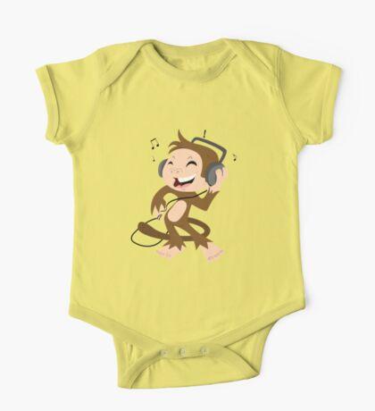 monkey dancing One Piece - Short Sleeve