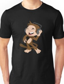 monkey dancing Unisex T-Shirt