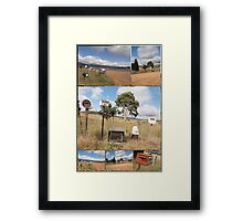 Letter Box Country Roads NSW #2 Framed Print