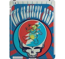 The Grateful Dead psychedelic poster iPad Case/Skin