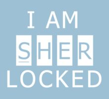 Sherlocked Kids Tee