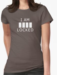 Sherlocked (empty variant) Womens Fitted T-Shirt