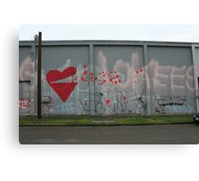 Spreading the Love - Scale Canvas Print