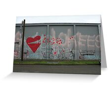 Spreading the Love - Scale Greeting Card