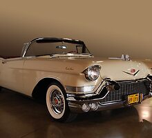 57 Caddy Convertible by WildBillPho